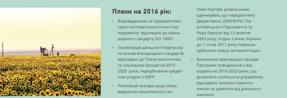 Плани на 2016 рік